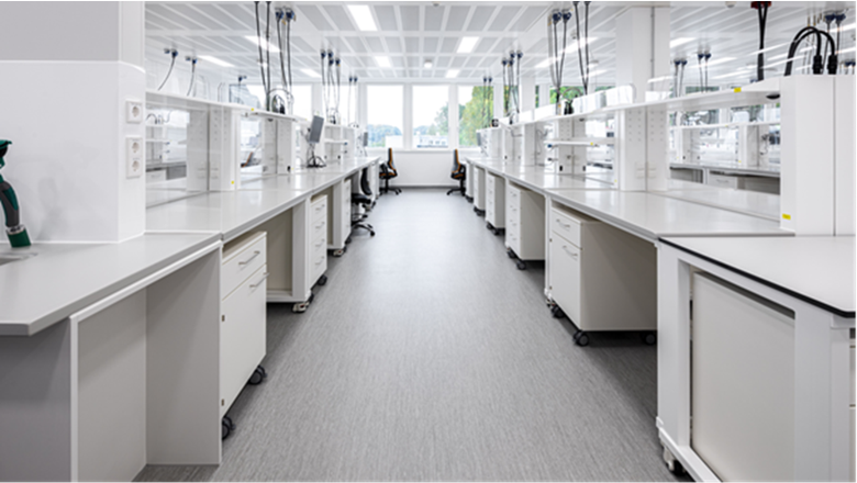Labormöbel Laborsystem flexibel und modern